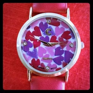Charming Charlie Heart Watch